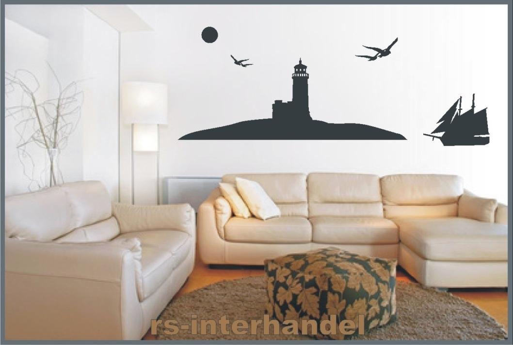 Leuchtturm 126 Als Wandtattoo Wohnzimmer Wanddeko