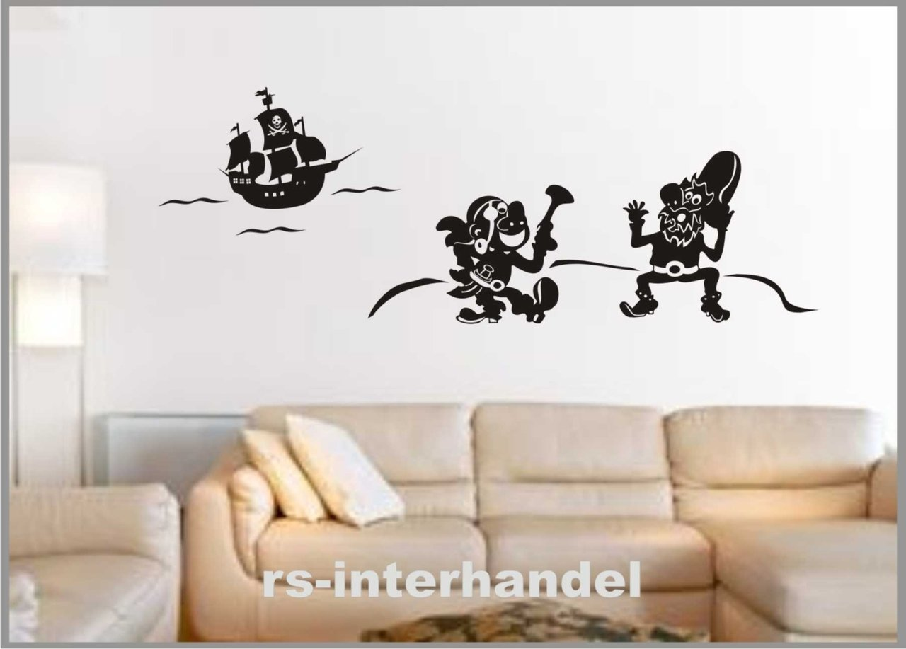 wandtattoo schatzinsel 551 kinderzimmer wandtattoos. Black Bedroom Furniture Sets. Home Design Ideas