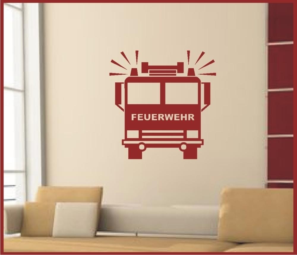 feuerwehr auto 322 wandtattoo kinderzimmer geschenk. Black Bedroom Furniture Sets. Home Design Ideas