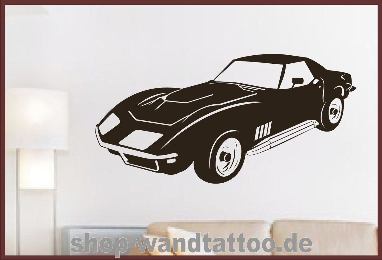 auto wandtattoo beliebte wandtattoos f r ihr kinderzimmer. Black Bedroom Furniture Sets. Home Design Ideas