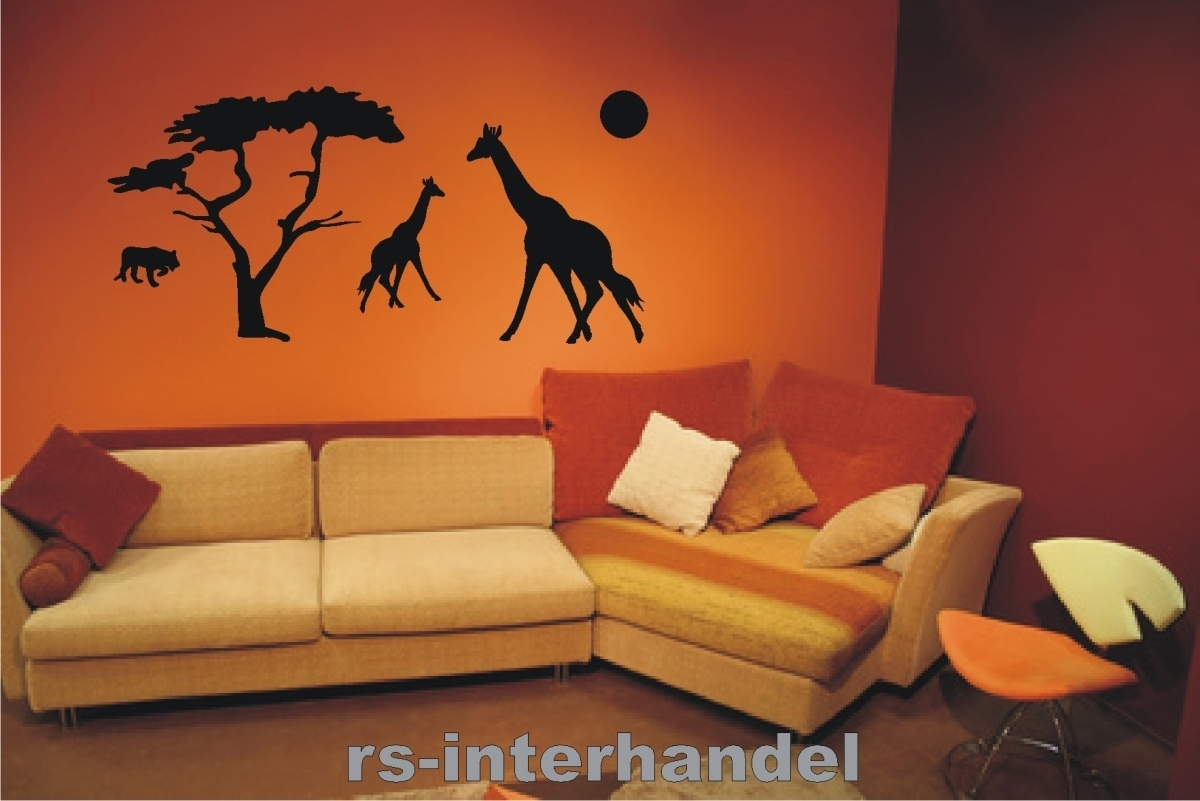 wandtattoo afrika 106 beliebte wandsticker aufkleber deko. Black Bedroom Furniture Sets. Home Design Ideas