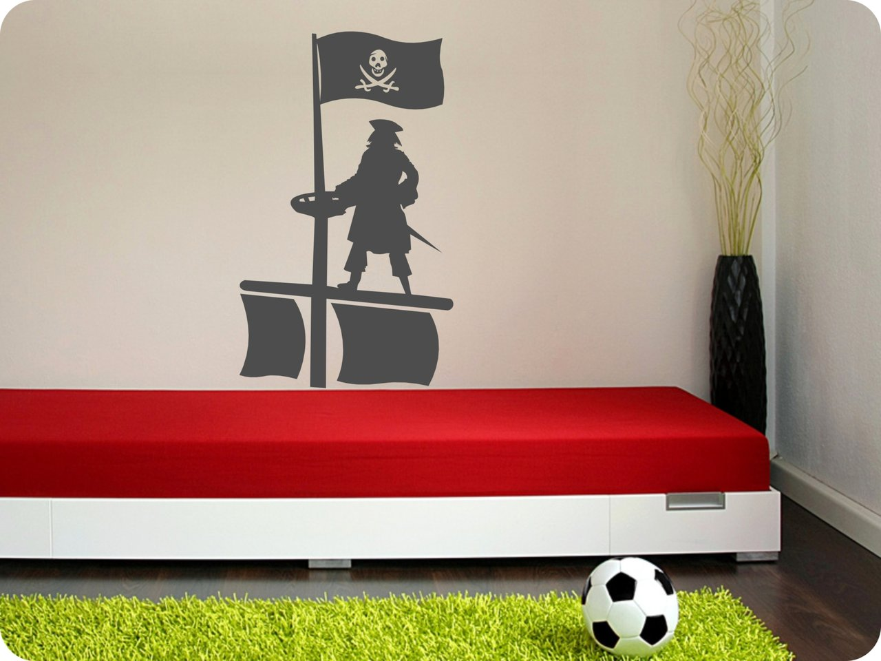 wandtattoo pirat 545 kinderzimmer wandtattoos. Black Bedroom Furniture Sets. Home Design Ideas