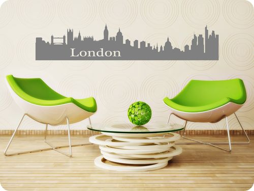 "Skyline ""London"" als Wandtattoo"